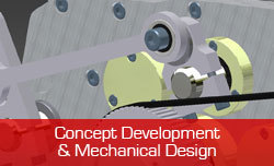 Concept development and Mechanical Design